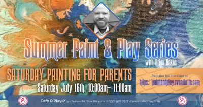 Summer Paint and Play Series: Saturday Painting For Parents