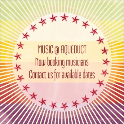 CALL FOR MUSICIANS: Music at Aqueduct Brewing