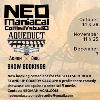 CALL FOR COMEDIANS: NEO Maniacal Comedy Studio