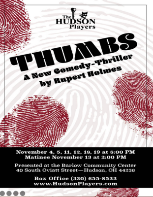 AUDITIONS: THUMBS at Hudson Players