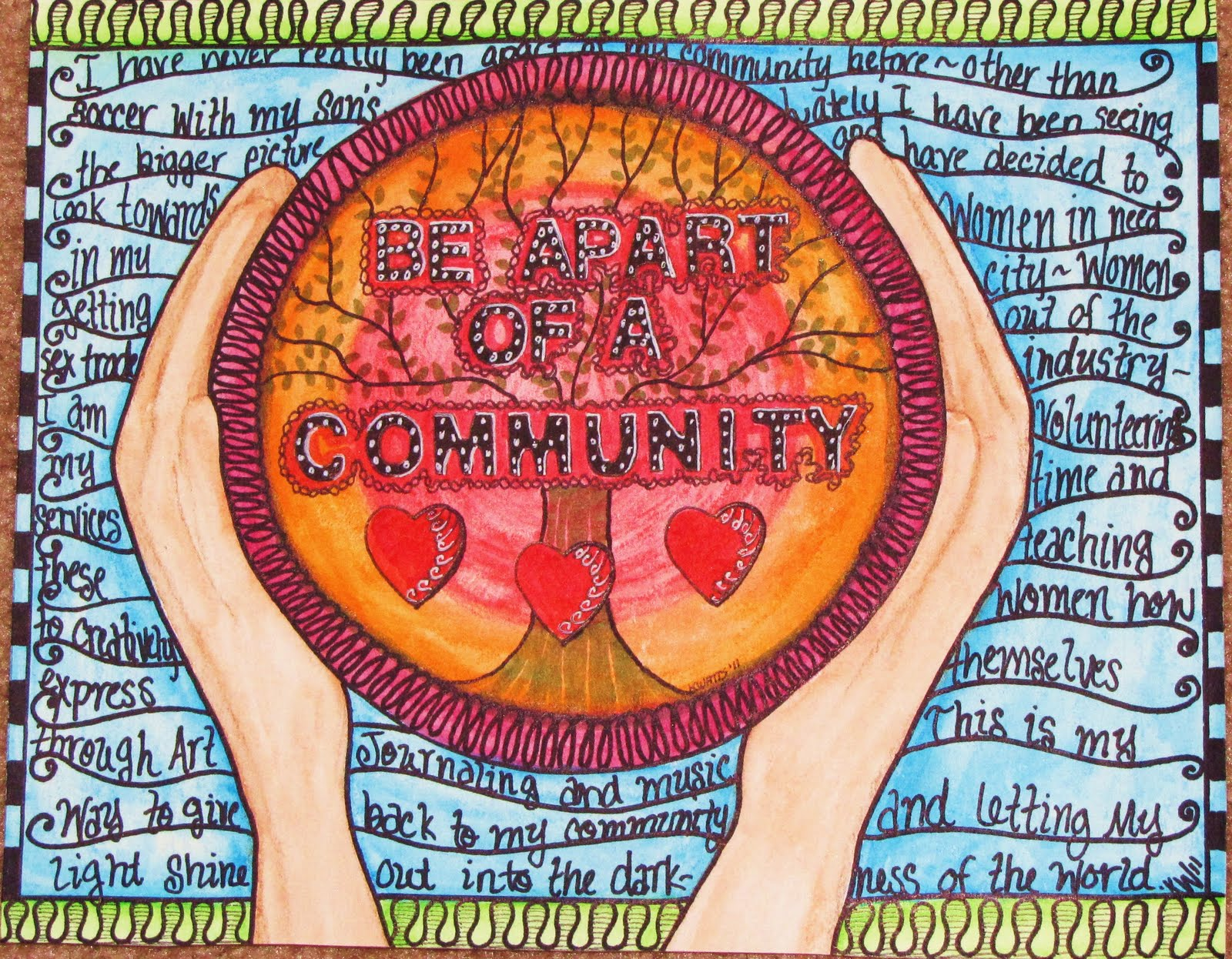 Community Art Project Presented By Akron Summit County