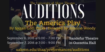 AUDITIONS: The America Play