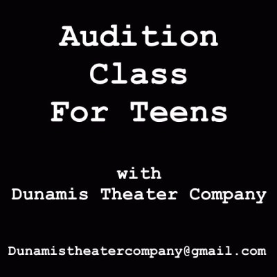 Next Please: An Audition Class for Teen Actors