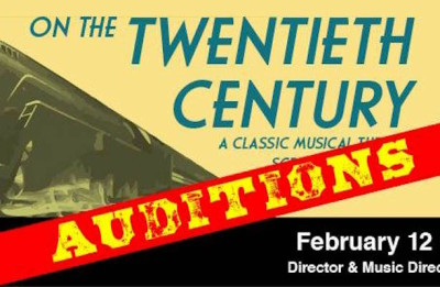AUDITIONS: On The 20th Century @ Hudson Players