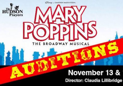 AUDITIONS: Mary Poppins @ Hudson Players