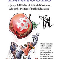Editorial Cartoonist Ron Hill with 'Edutoons'