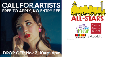 CALL FOR ARTISTS: Canton Arts District All-Stars - Free to Apply