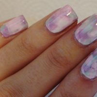 DIY Water Marbling with Nail Polish