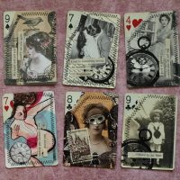 Altered Playing Card Art