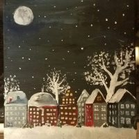 Christmas Painting Class