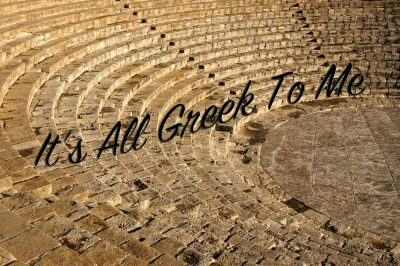 It's All Greek To Me (Youth Theatre Class)