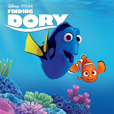 School's Out Movie – Finding Dory (PG)