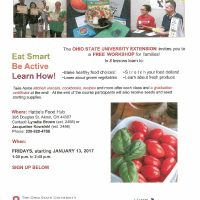 Food and Nutrition Education for Families