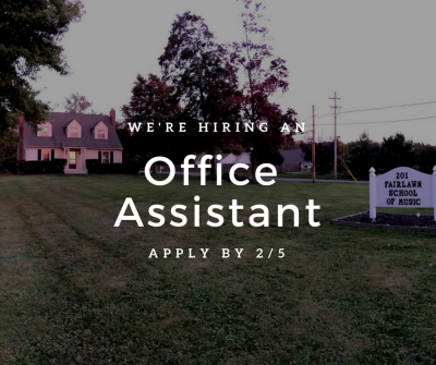 Office Assistant Position