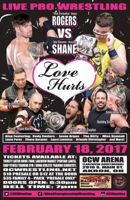 """Love Hurts"" at the OCW Arena"