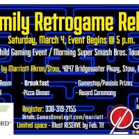 Family Retrogame Relay