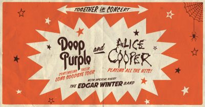 Deep Purple & Alice Cooper