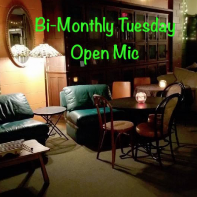 Bi-monthly Tuesday Open Mic at Pure Intentions