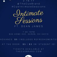 The Cue Presents: Intimate Sessions ft. Dean James