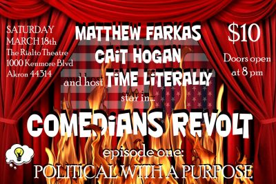 Comedians Revolt Ep. 1: Political with a Purpose