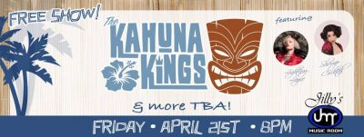 The Kahuna Kings return to Jillys!