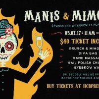 Halloween Charity Ball Presents Manis & Mimosas