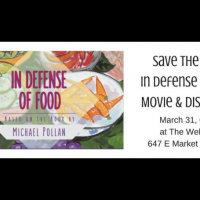 Movie and Discussion: In Defense of Food