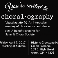 Summit Choral Society Choralography Benefit