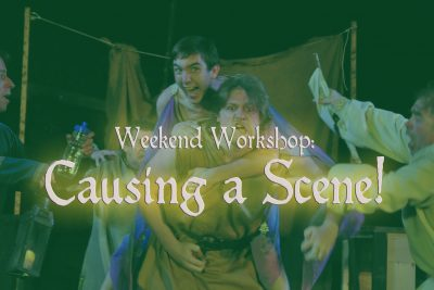 Weekend Workshop: Causing a scene!