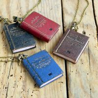 Teen Novel Necklace