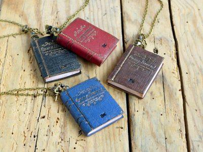 Teen Novel Necklace