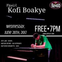 Kofi Boakye at Pub Bricco