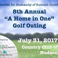 "8th Annual ""A Home in One"" Golf Outing"