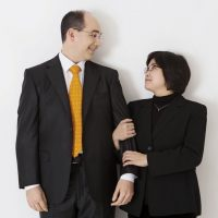 Cleveland Orchestra Principal Cellist Mark Kosower with pianist Jee-Won Oh