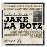 Jake La Botz in Cuyahoga Falls, Ohio!