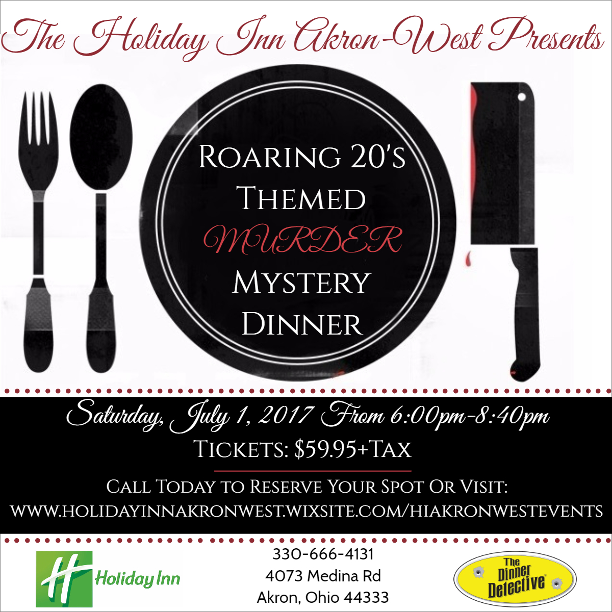 Best Murder Mystery Dinner Free: Murder Mystery Dinner Presented By Holiday Inn