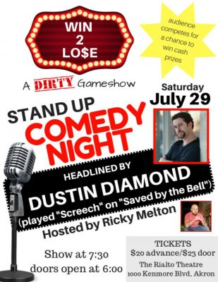 WIN 2 LO$E: A Stand Up Comedy Gameshow Featuring D...