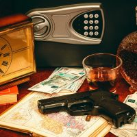 Murder Mystery: Five Card Draw, The Smell of Gun Smoke!