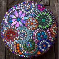 Mosaic Glass Pictures