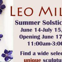Leo Miller Summer Solstice Show