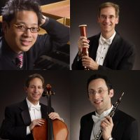 Members of The Cleveland Orchestra with Pianist Jerry Wong