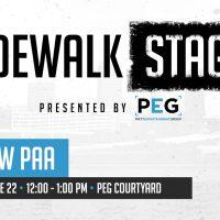 Sidewalk Stage: Andrew Paa