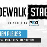 Sidewalk Stage: Gretchen Pleuss