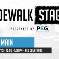 Sidewalk Stage: South Main