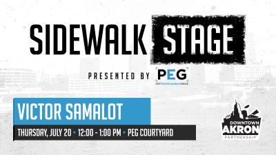 Sidewalk Stage: Victor Samalot