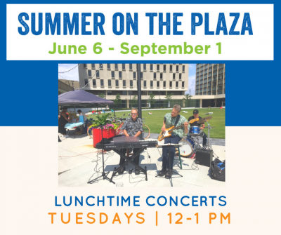 Summer on the Plaza Lunchtime Concert: Madison Cum...