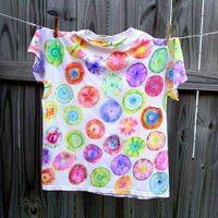 Totally Terrific Tie Dye T-Shirts