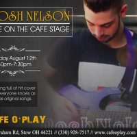 BOSH NELSON LIVE ON THE CAFE STAGE