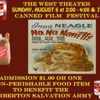 Canned Film Festival - No, No, Nanette