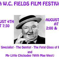 W.C. Fields Film Fest